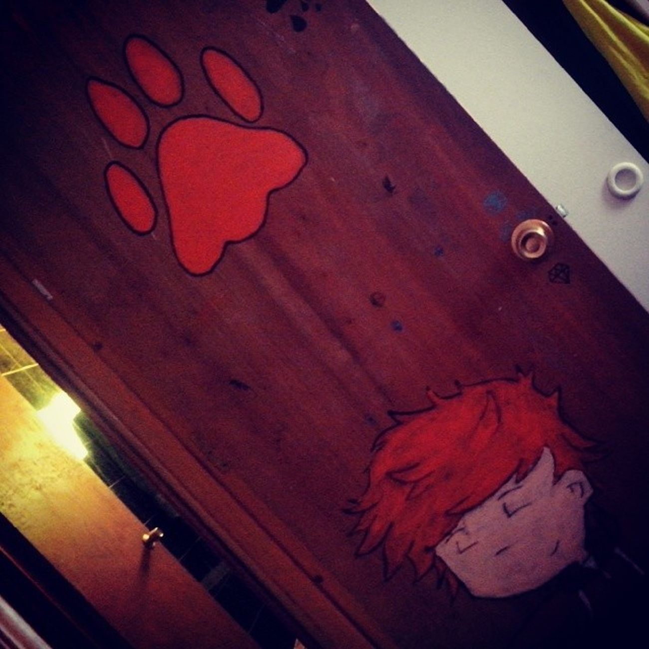 forgot Day3 Somethingorange my ed sheeran's draw on my door Fmsphotoaday Edstagram