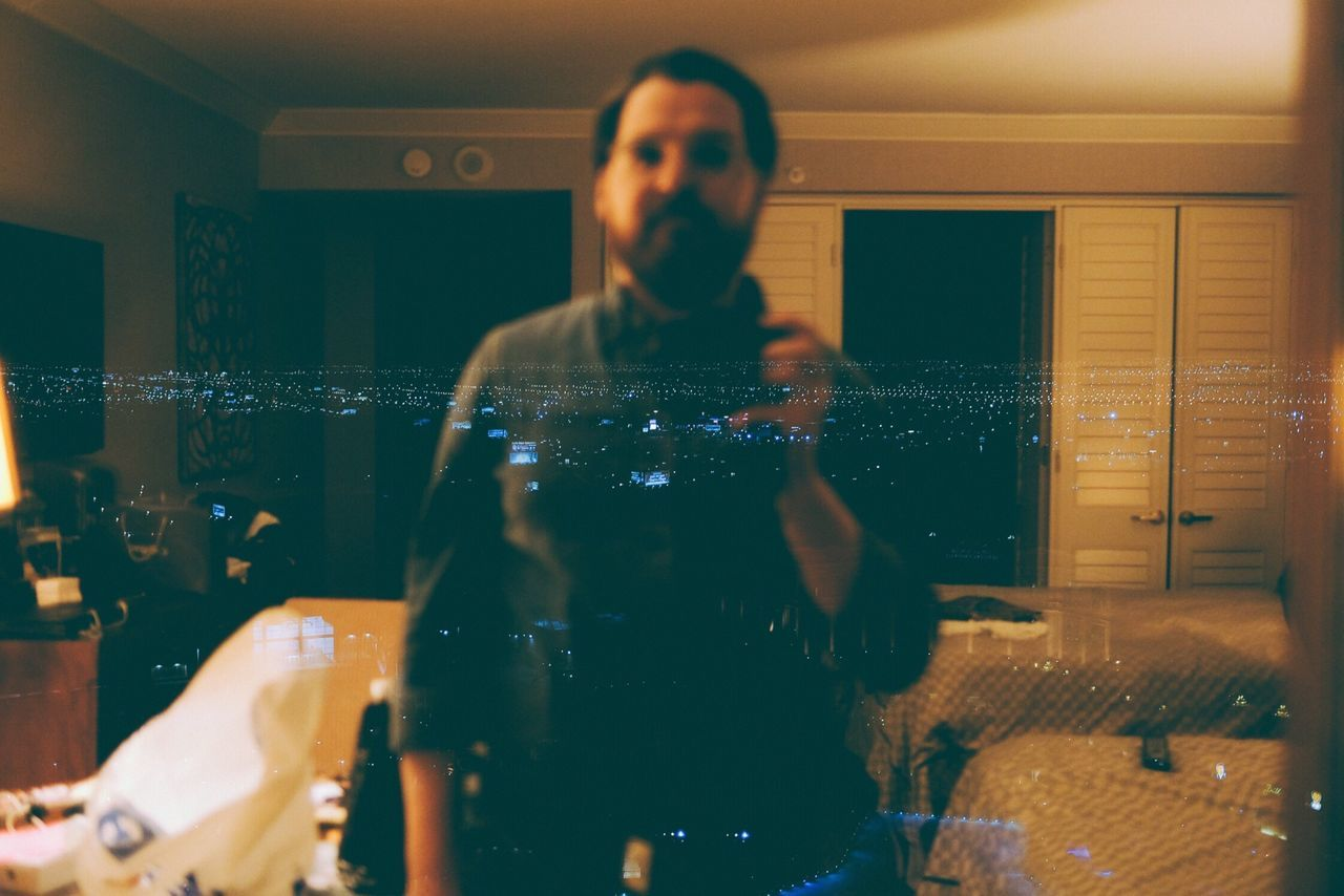 Me, Vegas, No. 2015 Real People Front View One Person Lifestyles Indoors  Leisure Activity Reflection Standing Portrait Young Adult Young Women Home Interior Men Illuminated Day Parkwayberlin VSCO Xt2 Xseries Fujifilm Vegas