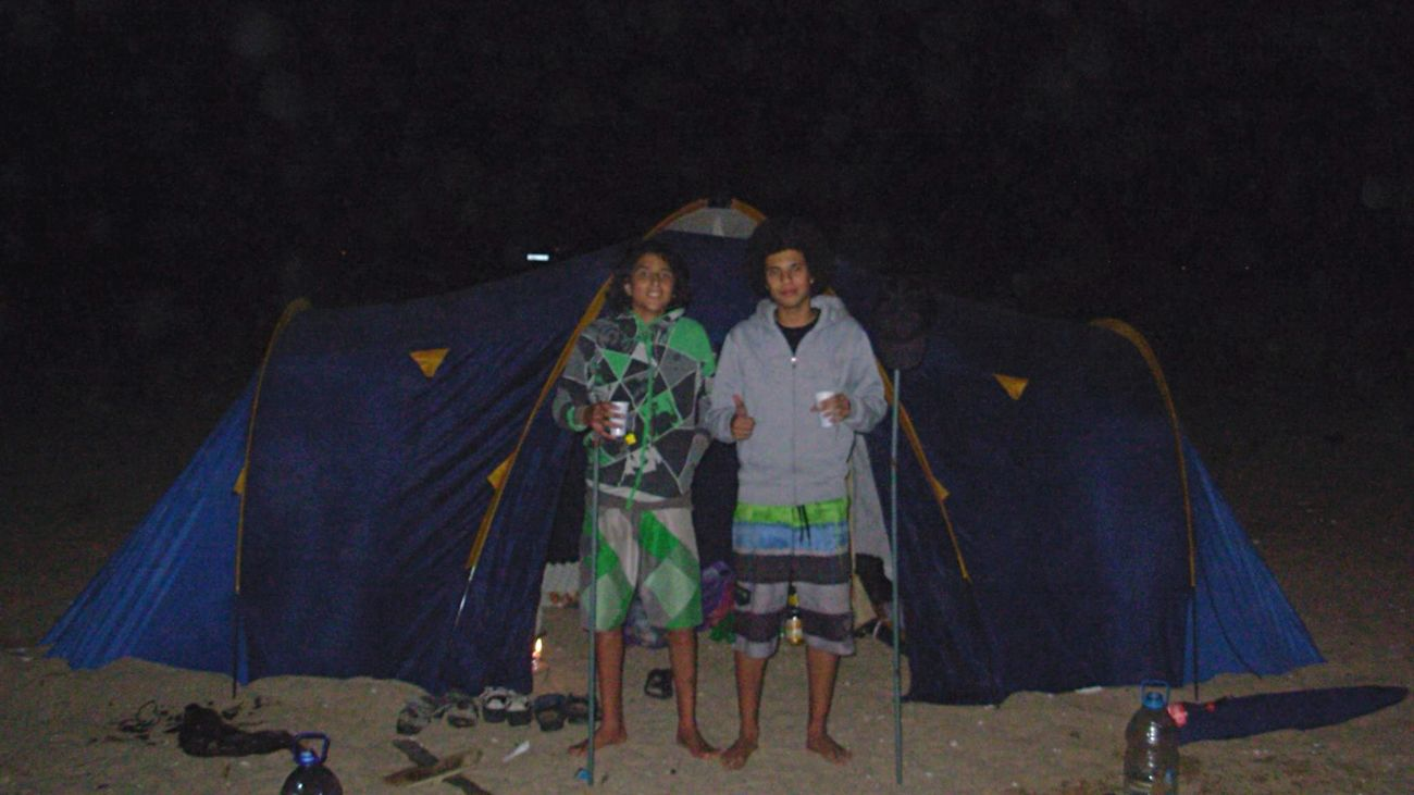 Summer 2013 Me And Walid Beatiful Nights  Fun Across The Universe Start ⛺️trip days