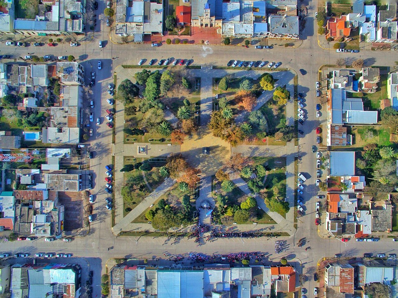 Cityscape Nature Aerial View Day Architecture Outdoors City Building Exterior Cityscape No People Tree