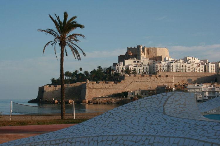 Architecture Beach Built Structure Castle Castle View  Castle Walls Ceramics Medieval Mosaic Art Mosaic Tiles Old Architecture Peñíscola Sea