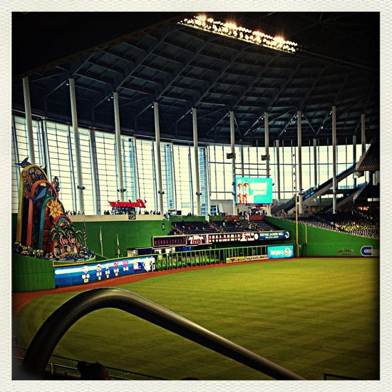 "This pic was taken at the marlins game, with my camp ""woodlands super stars sports camp"" First Eyeem Photo"