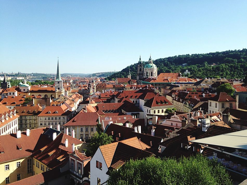 Beautiful stock photos of prague, Architecture, Bell Tower - Tower, Blue, Built Structure