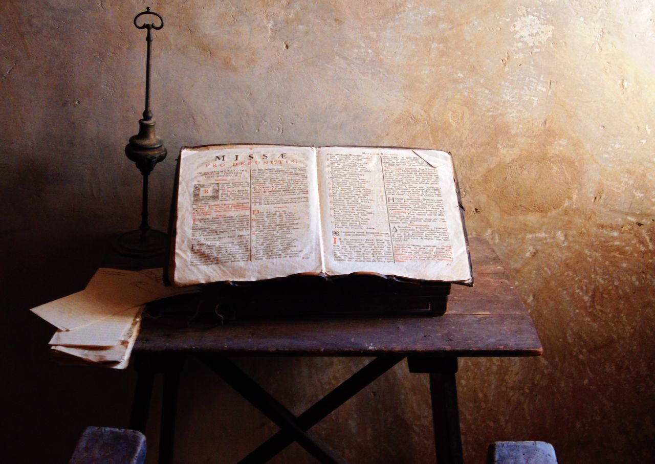 Mönch Convent Religion Scripture Writing Books History Museum Lonelyness Handmade Handwriting  Church Middle Ages Bible