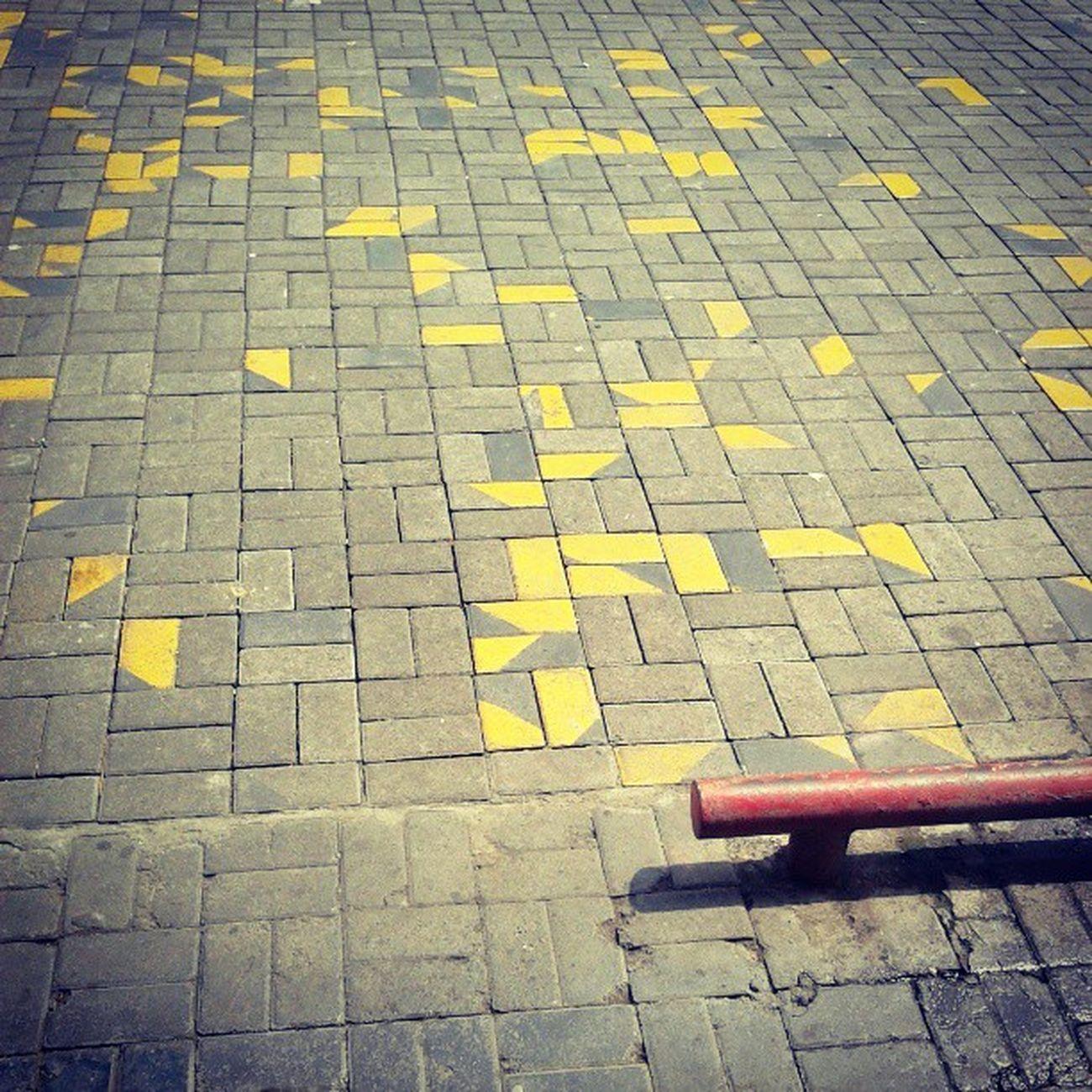 geometric yellow Street Streetphoto Yellow Red Rusty Picoftheday Photooftheday Instanusantarabali Instanusantara Instanesia Instadaily Instagood IGDaily Igers Concrete Bali INDONESIA LangitbaliPhotoworks