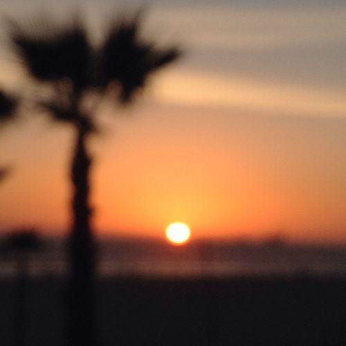 Life is a blur Sunset Huntington Beach