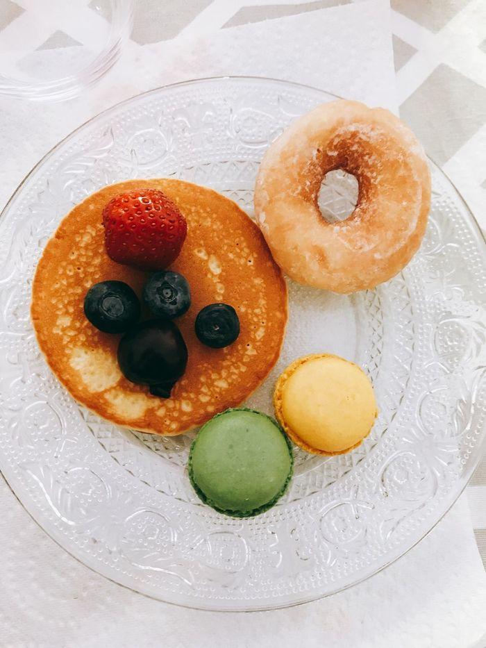 Petit goûter 🍩🍒 Goûter Happy Food Sweet Food Donut Ready-to-eat