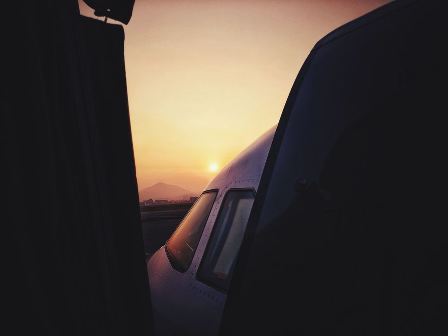 Korea Photos Sunpark Outdoors Scenics Airplane Flying Flight In The Terminal Airport Nature Sunset No People Curtain Sky Day Landscape Runway Close-up Boarding Streamzoofamily