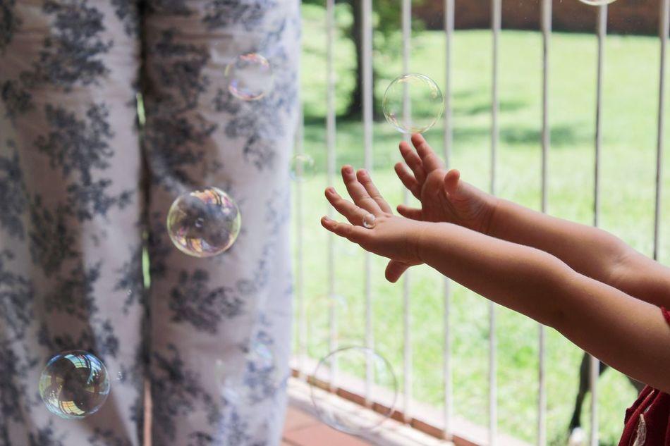 Beautiful stock photos of family, Balcony, Bubble, Childhood, Close-Up