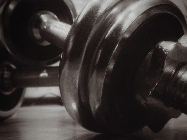 Close-up Day Dumbbells Exercises  Gym Healthy Lifestyle Horizontal Indoors  Iron Macro No People Sport