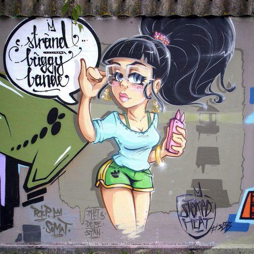 N' another Character! Super Bad Boys Stereoheat Graffiti Streetart