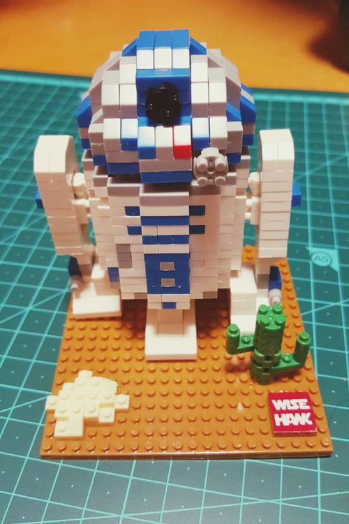 중국 Mini Block은 부품이 많은 건 비추합니다. R2D2