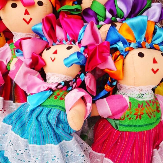 Eyeemphoto Muñecas Colores Mimexico ViveLaVida Santa María Del Río SanLuispotosi Mexico Mercado Pueblomagico
