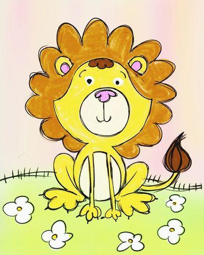 A lion cartoon Art Drawing Baby Lion