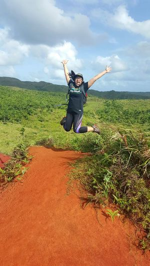 Bestfriend HikeLife Reddirt Jumpshot Jump For Joy! First Time Live The Moment  Love The Outdoors
