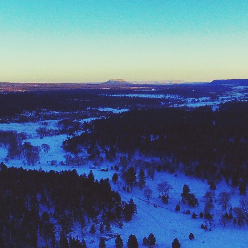 Sunset Winter Cold Temperature Rural Scene Sky Snow Landscape DJI Phantom 3 NewMexicoTRUE Newmexicophotography Dji Global Newmexicoskies Tranquil Scene Cloud - Sky Outdoors Beauty In Nature Scenics