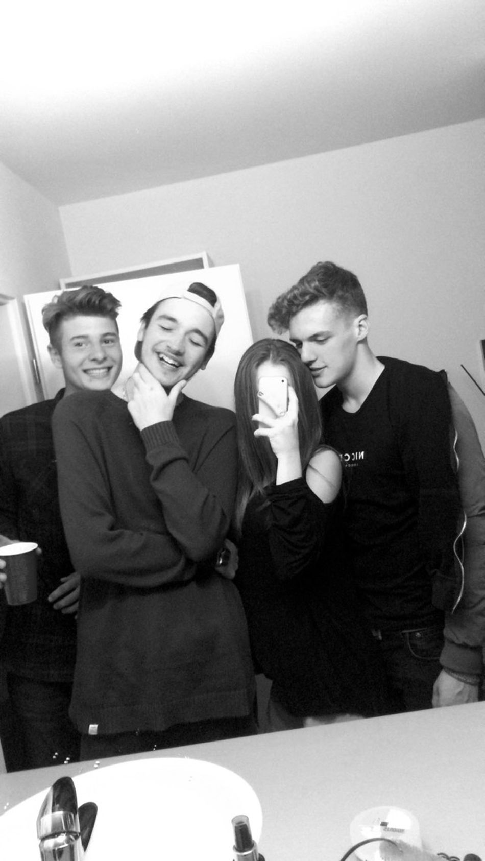 last night a dj saved my life 🎶 Bennyssweet17 Boys Hanging Out