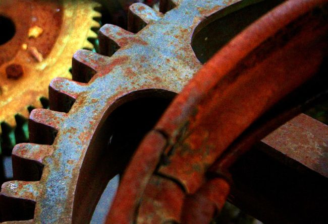 Close-up Gear Industrial Photography Industry No People Outdoors Patern Rust