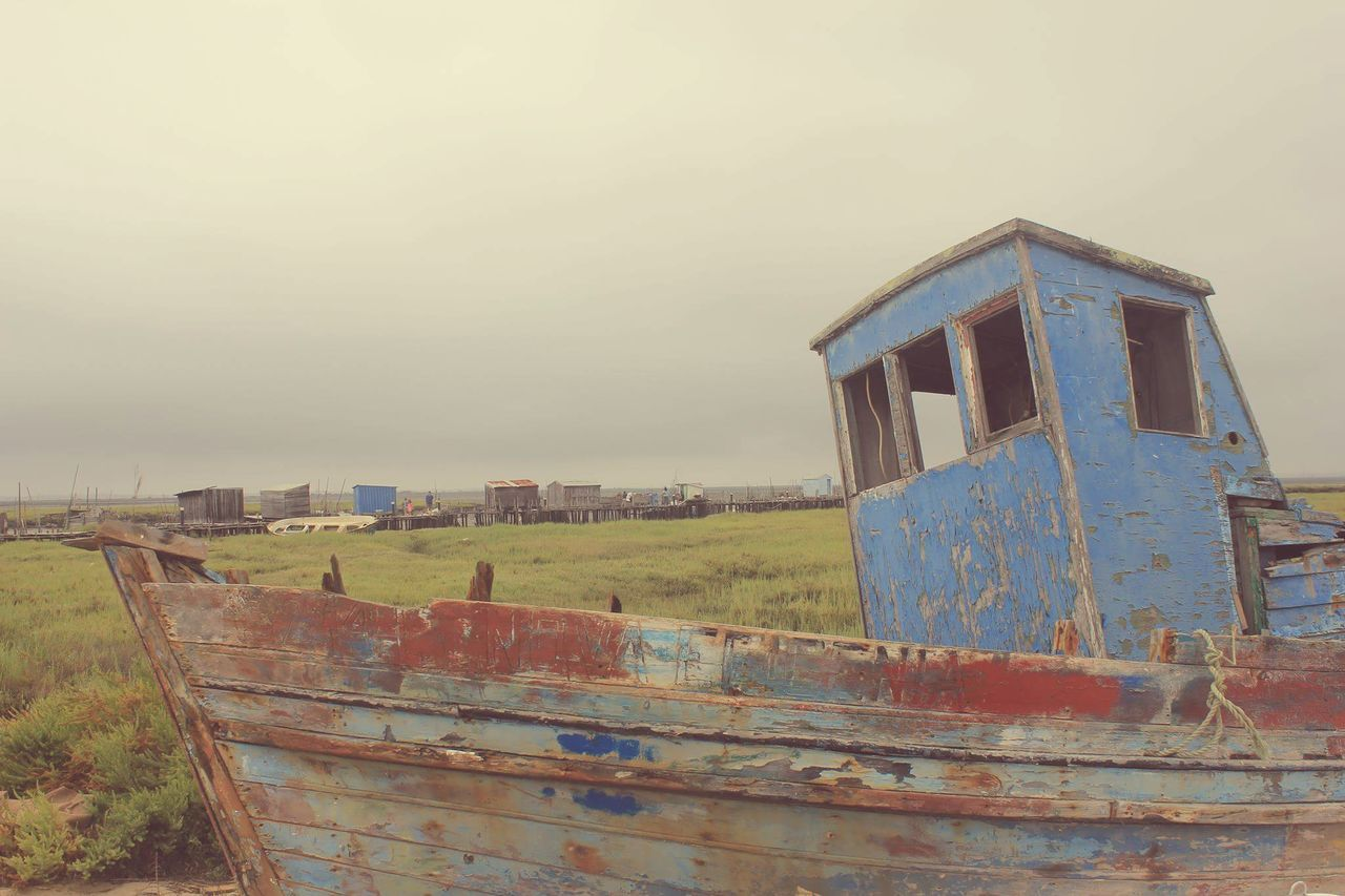 Outdoors No People Day Architecture Built Structure Rural Scene Building Exterior Sky Old Boat Bucolic Bucolic Landscape The Great Outdoors - 2017 EyeEm Awards EyeEmNewHere