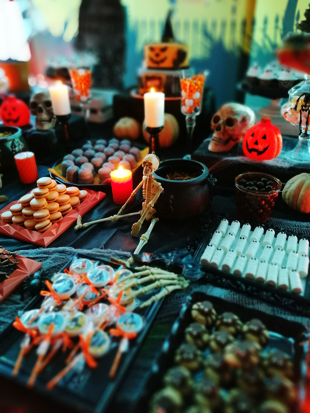 Halloween In My Work, Do What I Love ❤️💥❤️... In My Work Work Working Sweet Food Candies! Candies Everwhere  Business Finance And Industry No People Indoors  Choice Market Multi Colored Day Close-up Food Art Is Everywhere