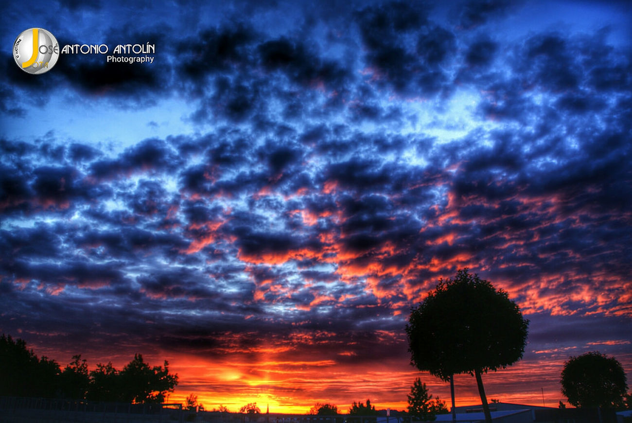 "Atardecer ""rojo"". Sunset Valladolid Atardeceres"