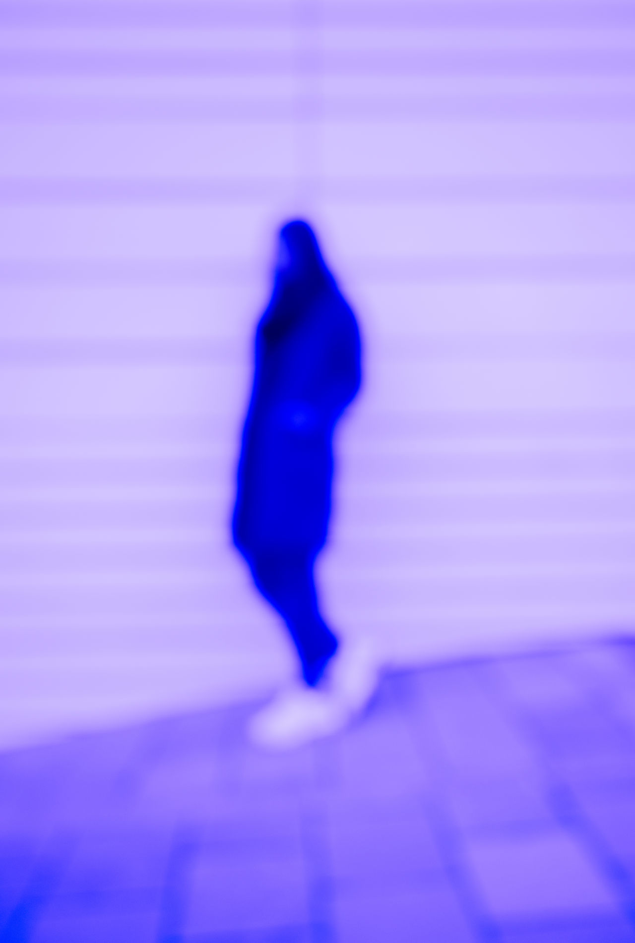 BLURRED SITUATION Blue Full Length