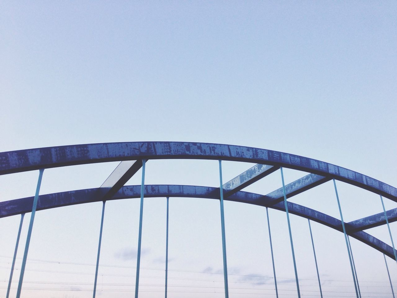 Beautiful stock photos of metal, Arch Bridge, Architecture, Built Structure, Clear Sky
