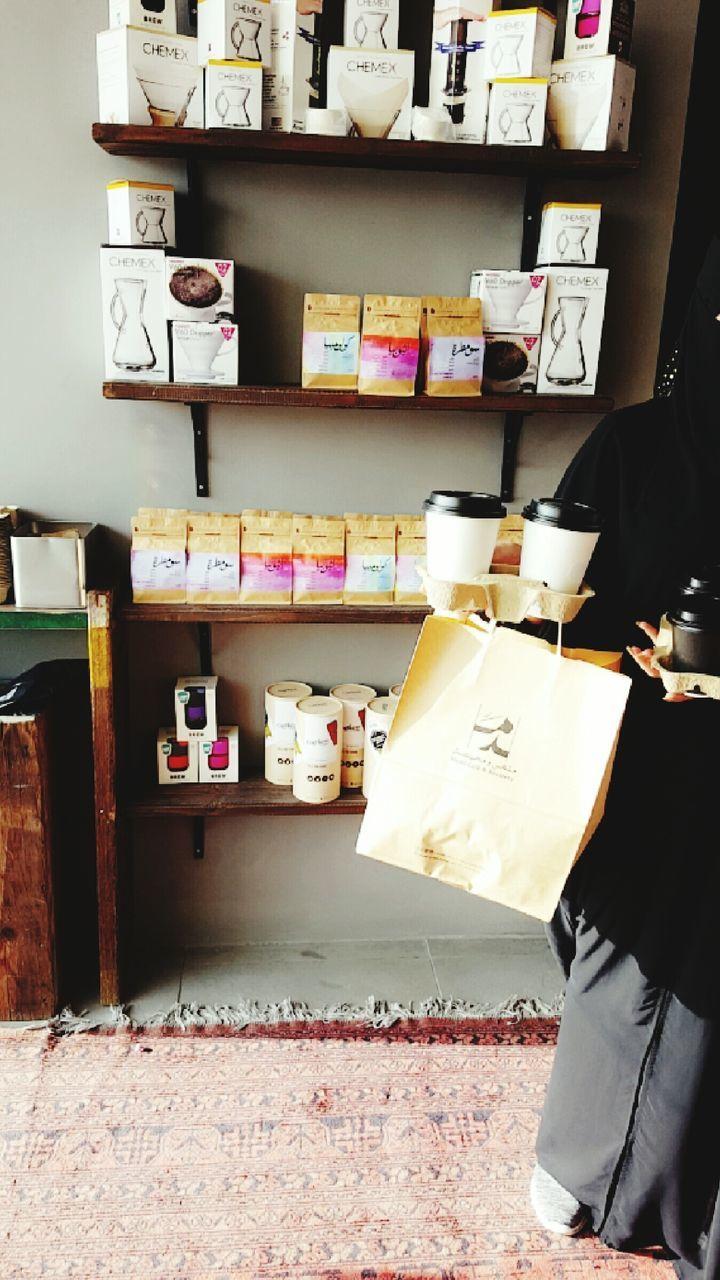 shelf, indoors, choice, bookshelf, day, one person