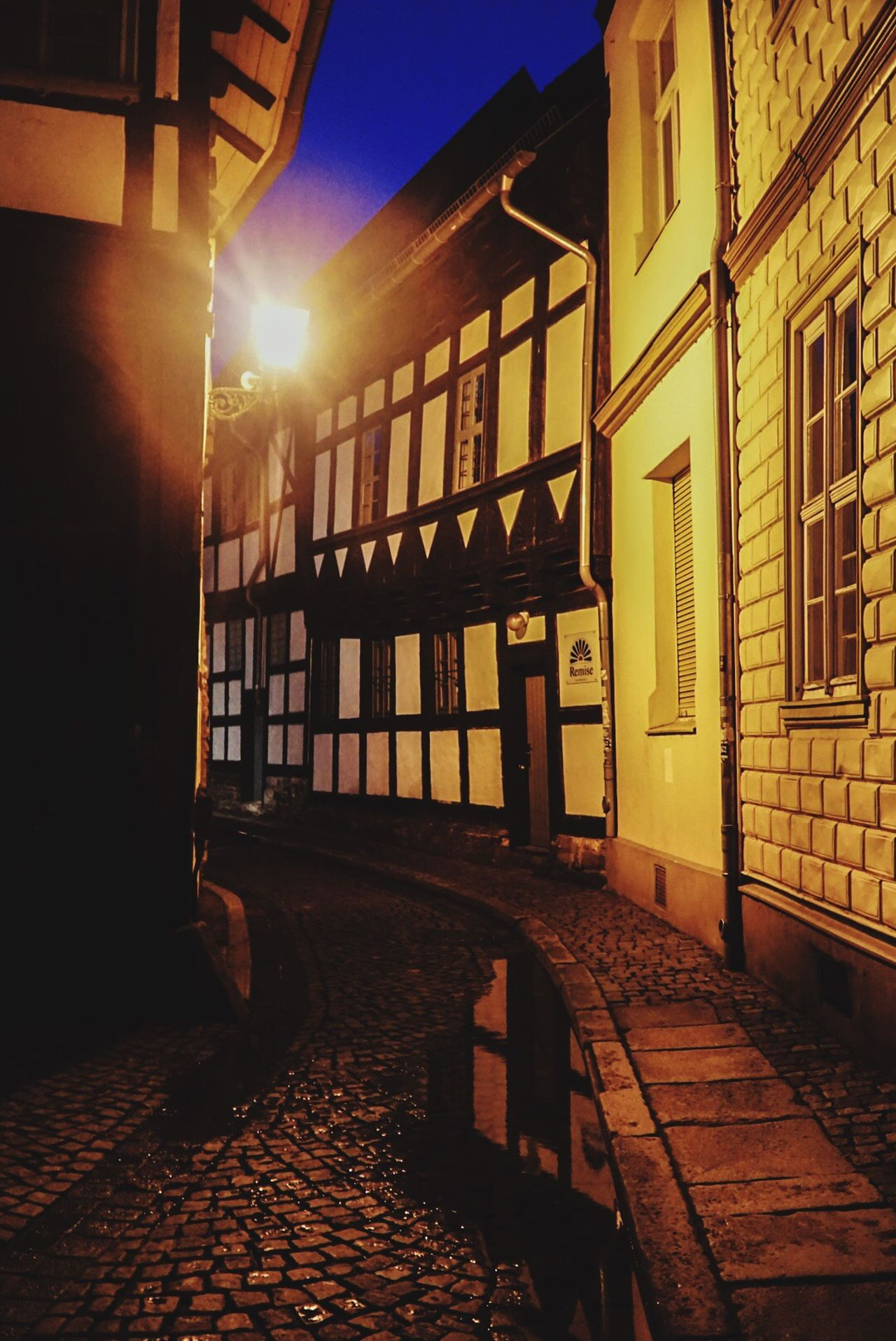 Built Structure Architecture Building Exterior Window House Illuminated No People Outdoors Sky Day Nightphotography Night Night Photography Night Lights Saxonyanhalt Wernigerode