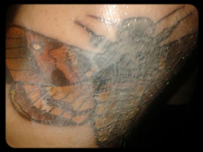 healing time Tattoo Tattooed Deathmoth Healing