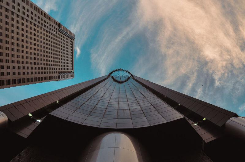 Exploresg Skyscrapers Architecture Cloud - Sky