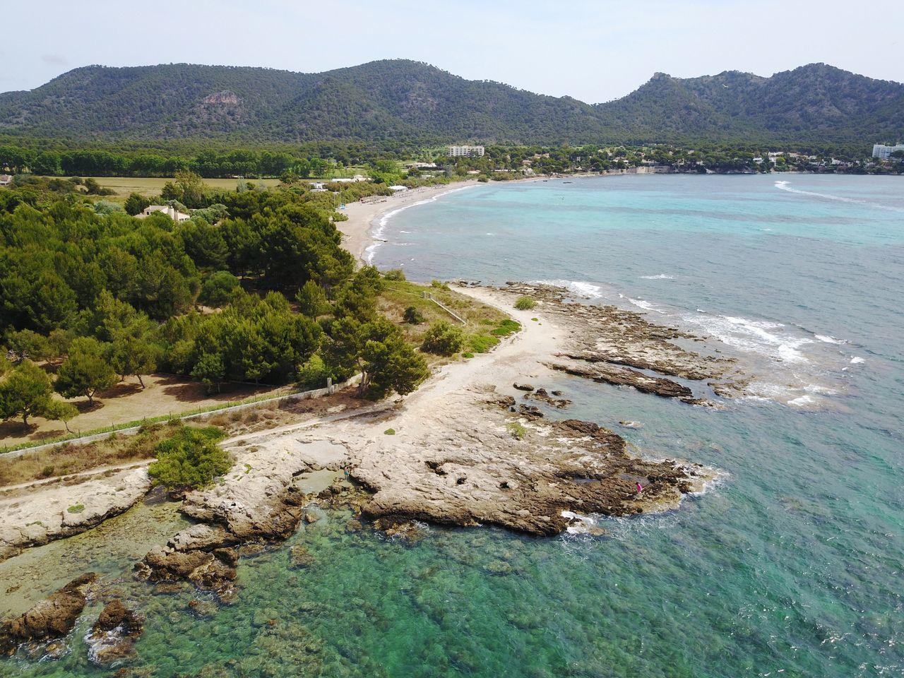 Coastline Mallorca Drone