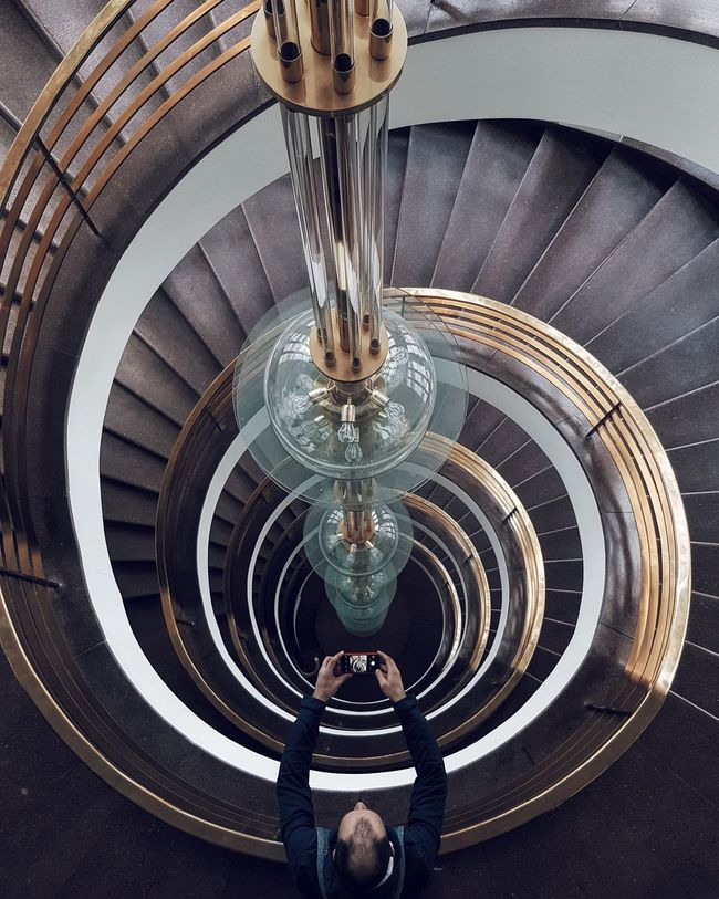 Urbanphotography EyeEm Deutschland Architecture_collection EyeEm Best Shots Urban Geometry Eye4photography  The World Needs More Spiral Staircases Stairs
