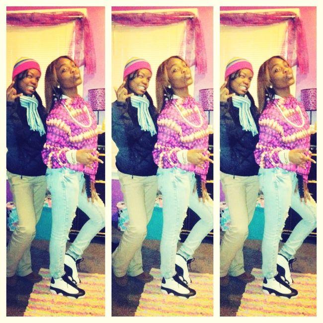 Me && my Foreva bxtchh #PinksavageFendi ❤❤❤