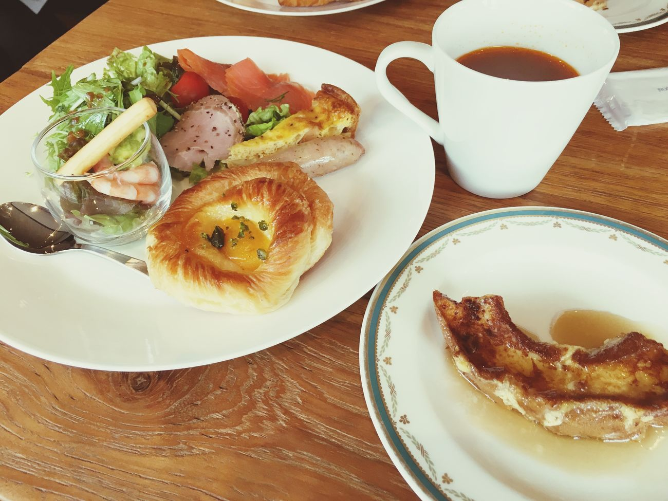 車麩のフレンチトースト♡ Checking In Kanazawa,japan Breakfast Frenchtoast Weekend Hokuriku Japan