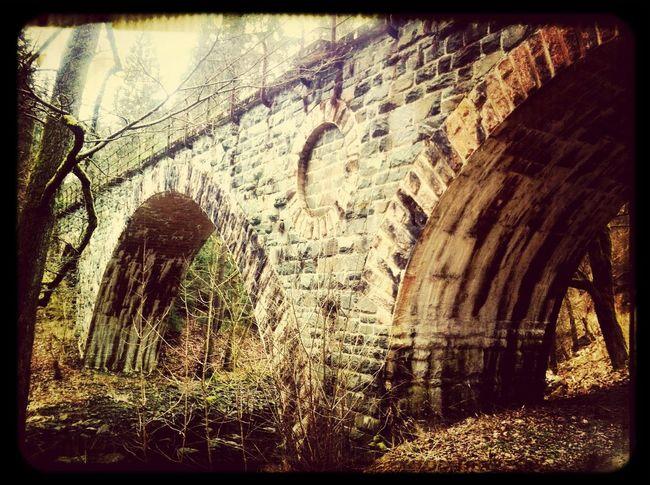 wandern im Höllental! under the bridge.