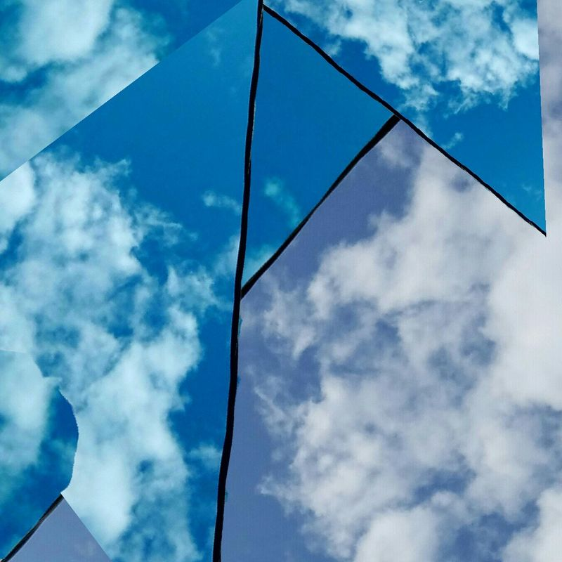Geometric CollageAbstractions In Colors The Art Of Photography Fine Art The Song Of Color Still Life Photograpy Sky Sky And Clouds Photo Collage My Year My View