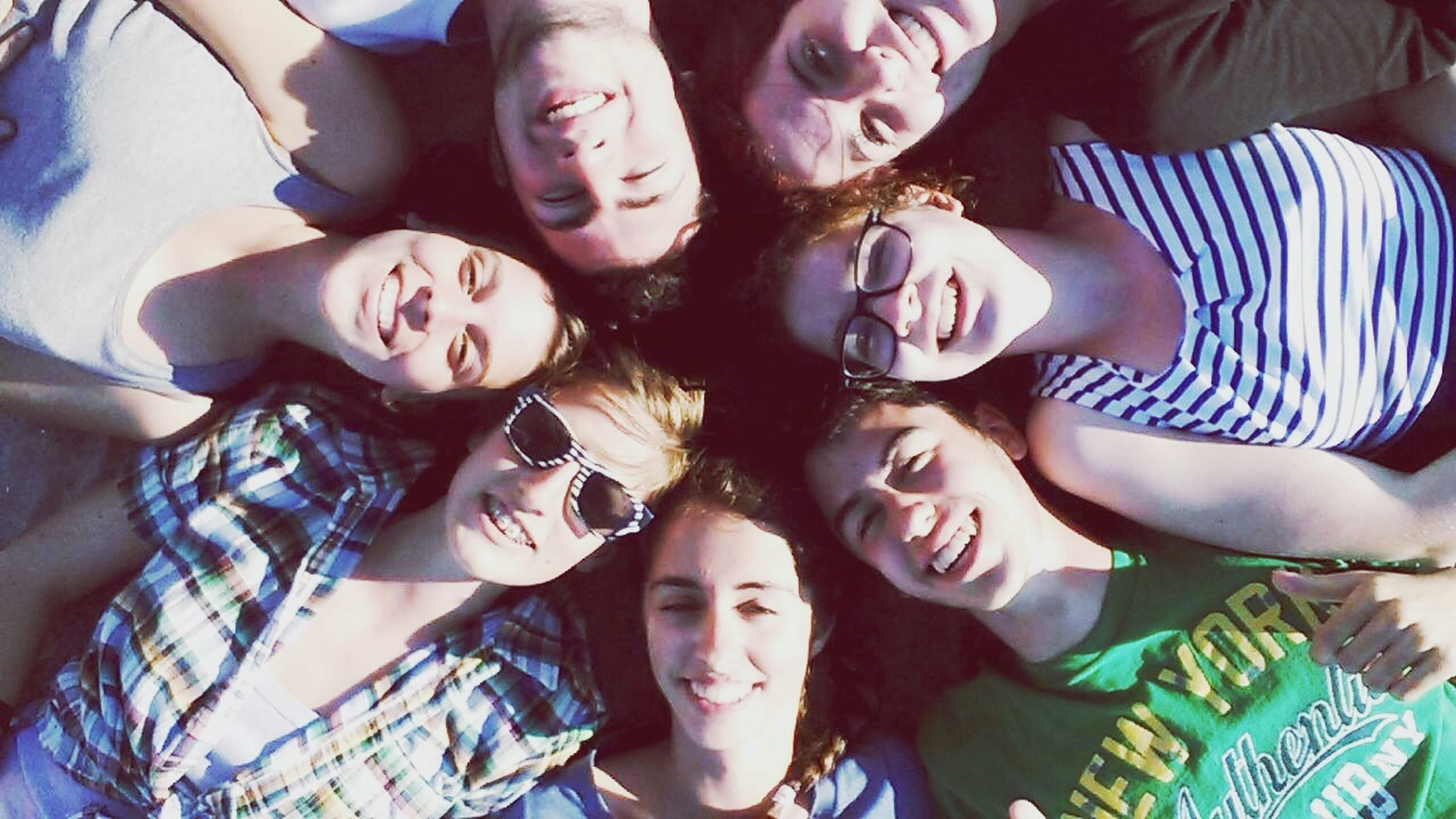 togetherness, lifestyles, bonding, leisure activity, love, friendship, person, indoors, casual clothing, family, high angle view, fun, young adult, enjoyment, young women