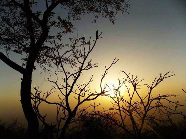 Sunset Mount Abu Rajasthan, India Transformation
