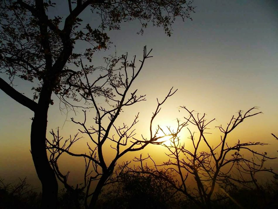 Sunset Mount Abu Rajasthan, India Transformation