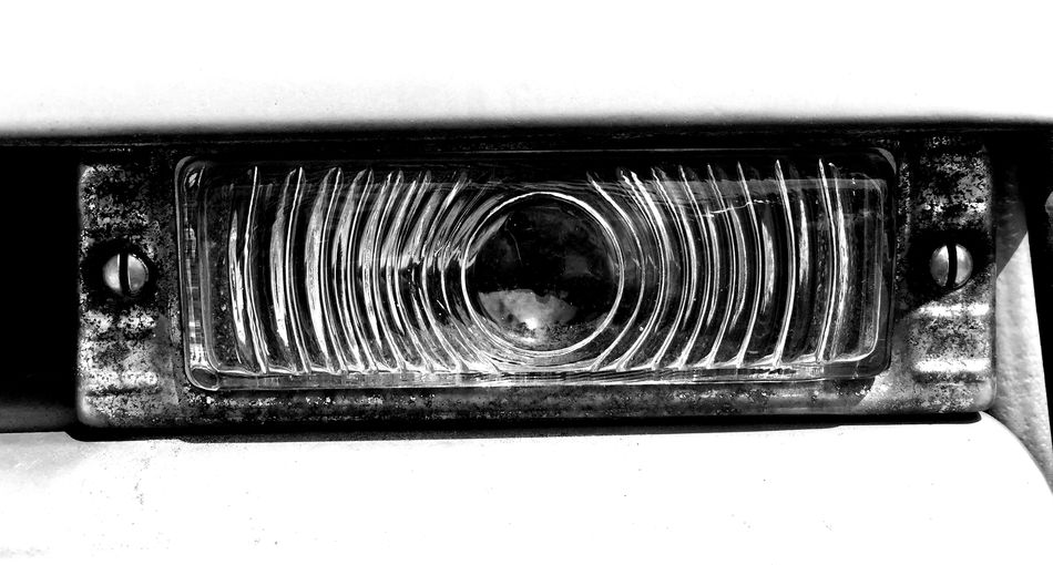 turn signal Blackandwhite Blackandwhite Photography Chevrolet Chevy Truck Iphone6 IPhoneography Light Old Truck Signal Truck