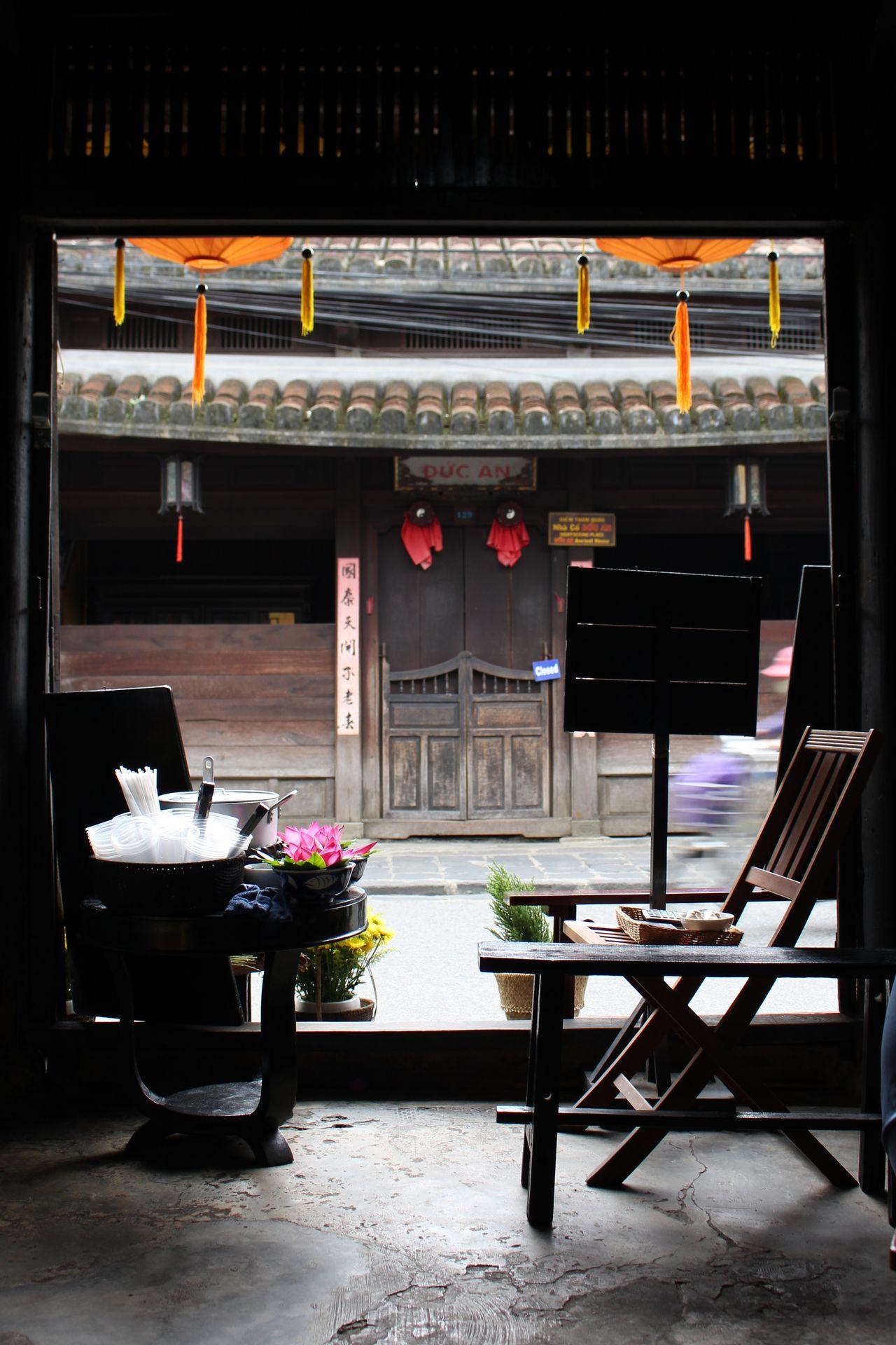 2016 Ancient City Chair Good Food Hoi An Latern Silence Tea Time Travel Vietnam Wanderlust