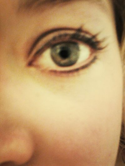 Playing with makeup :) Green Eyes Pretty