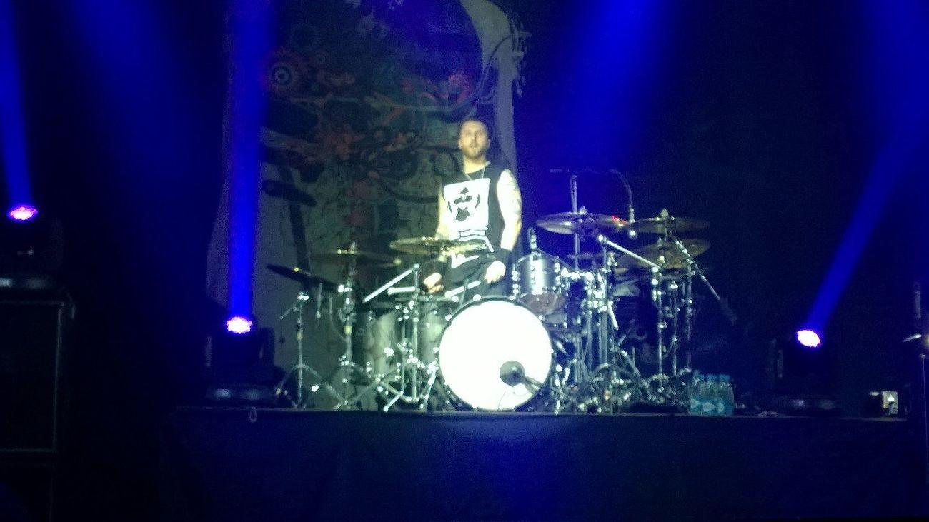 3DG Three Days Grace Rock Concert Belarus. Minsk Neil Sanderson Drummer