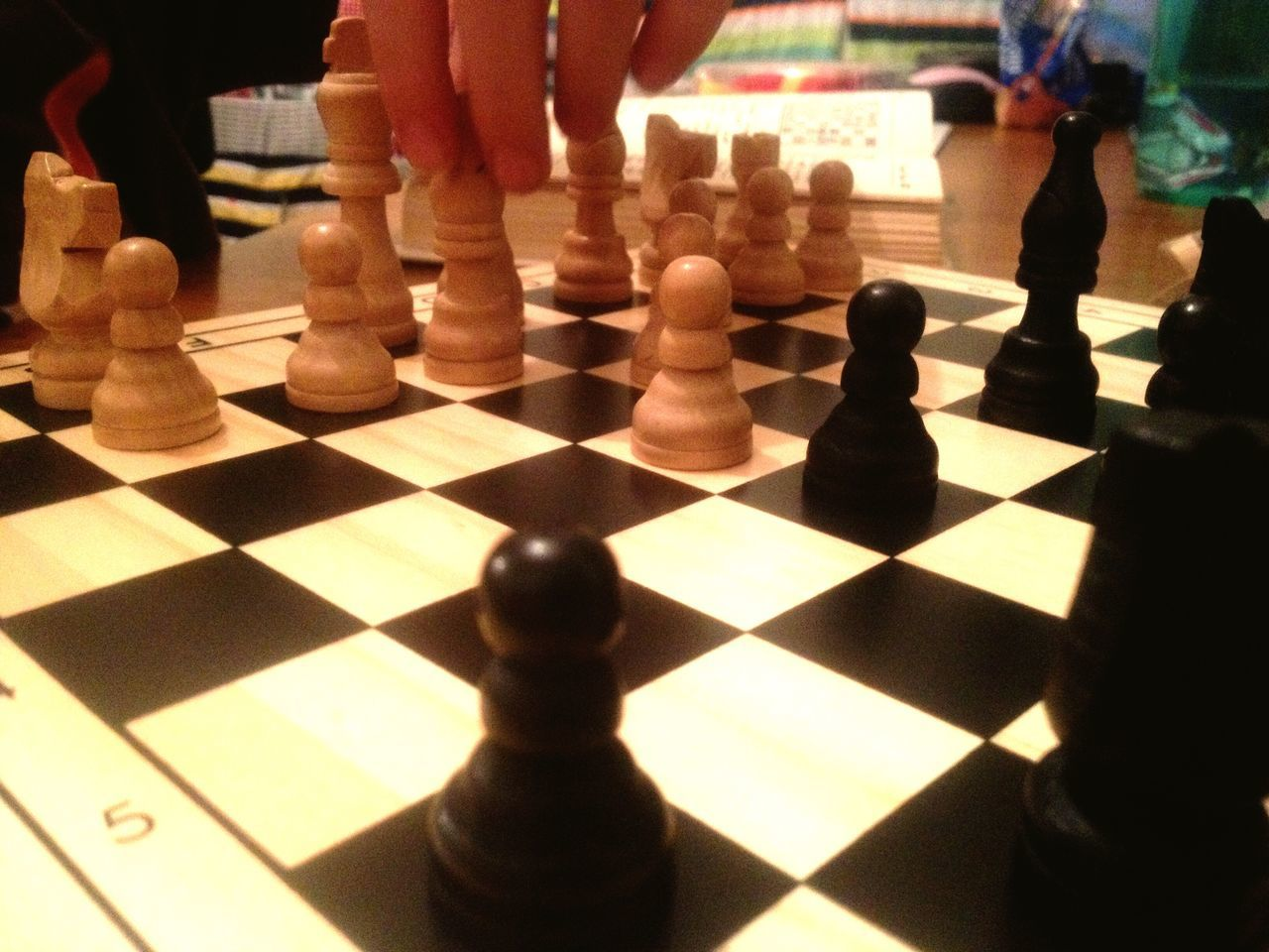 A game of chess. Chess Chessboard Chesspieces Chess Piece Game Fun Play Playing Board Game Strategy Strategic Intellectual Black White Squares Chess Board Pawn Chessmen Chess Men