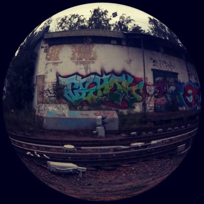 Граффити гуляла рыбий_глаз