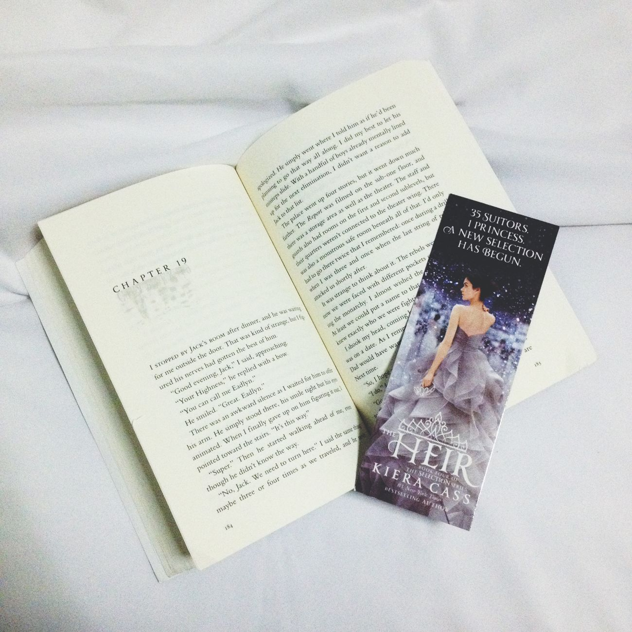 The Heir by Kiera Cass Books Gabskie Teen First Eyeem Photo