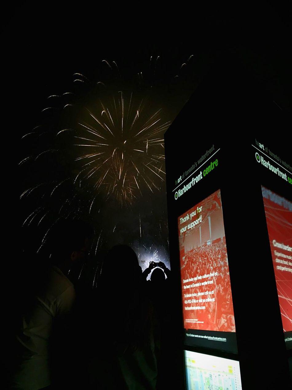 Canada Eve, Harbourfront Centre Toronto IPSWebsite Toronto Canada Fireworks Celebration Taking Photos WOW Stunning Sky