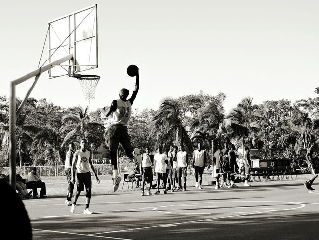 My Year My View Basketball - Sport Sport Basketball Hoop Outdoors Basketball Player Court Ball People Tree Taking A Shot - Sport Sports Team Sportsman Dunking Nassau Bahamas Highschool