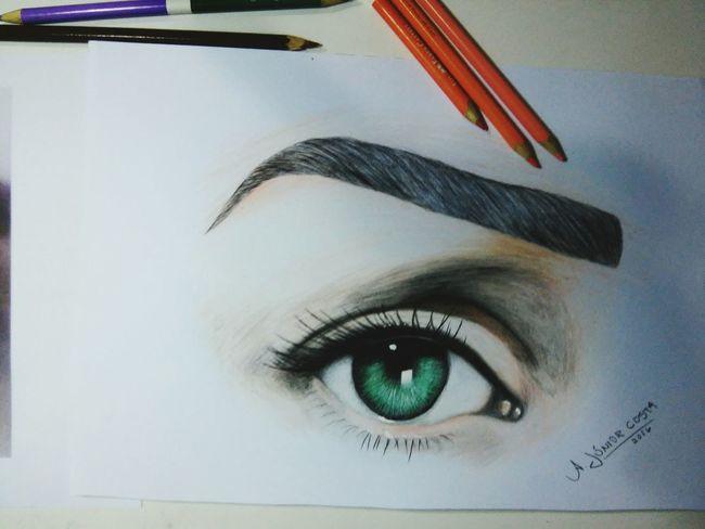 Dri ❤ Illustration Desenho ArtWork Eyes Eyesdrawing Drawing Ilustracion
